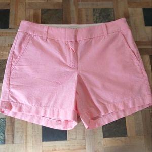 J. Crew Pink Cotton Shorts